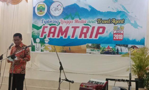 Majukan Pariwisata, Disparpora gelar Fam Trip Exploring